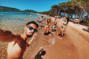 Fandomtur Friends Amigos diversión playa mar