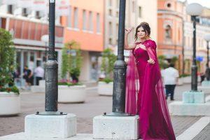 Fandomtur Glam Mujer vestido fucsia