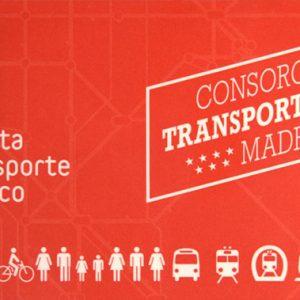 Tarjeta Madrid Transportes CRTM