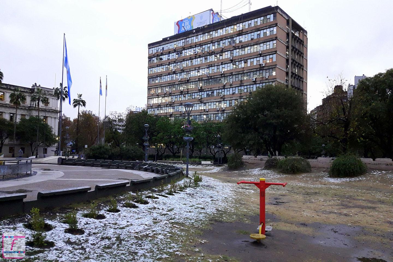 Nieve en Córdoba Capital - 16.06.21